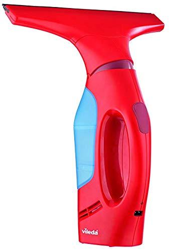 Vileda Windomatic Fenstersauger, mit flexiblem Kopf fr streifenfreie Fenster, red