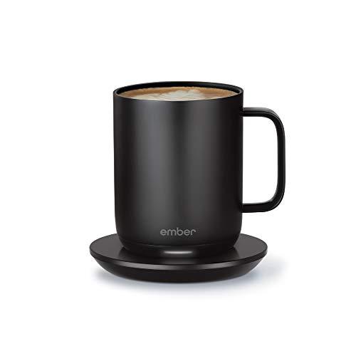 Ember Temperature Control Smart Mug 2, 284 ml, schwarz, 1,5 Stunden Akkulaufzeit  App-gesteuerte beheizte Kaffeetasse  verbessertes Design schwarz