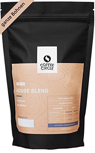 Coffee Circle | Premium Espresso House Blend | 1kg ganze Bohne | Ausgewogener Espresso mit blumiger Note | 100% Arabica Blend | fair & direkt gehandelt | frisch & schonend gerstet