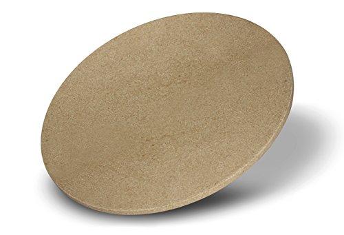 Enders Pizzastein 8791, für Gasgrill, Backofen, Flammkuchen, Grill-Zubehör, aus Keramik, Ø 31,5 cm*