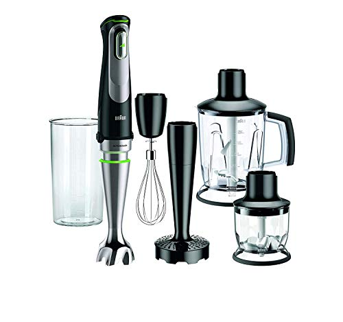 Braun MultiQuick 9 MQ 9005X Stabmixer, 1.000 W, EasyClick System Plus, ACTIVEBlade Technologie