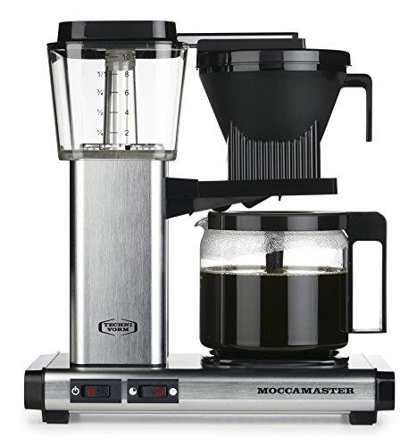 Moccamaster Filter Kaffeemaschine KBG 741 AO, 1.25 Liter, 1520 W, Brushed*