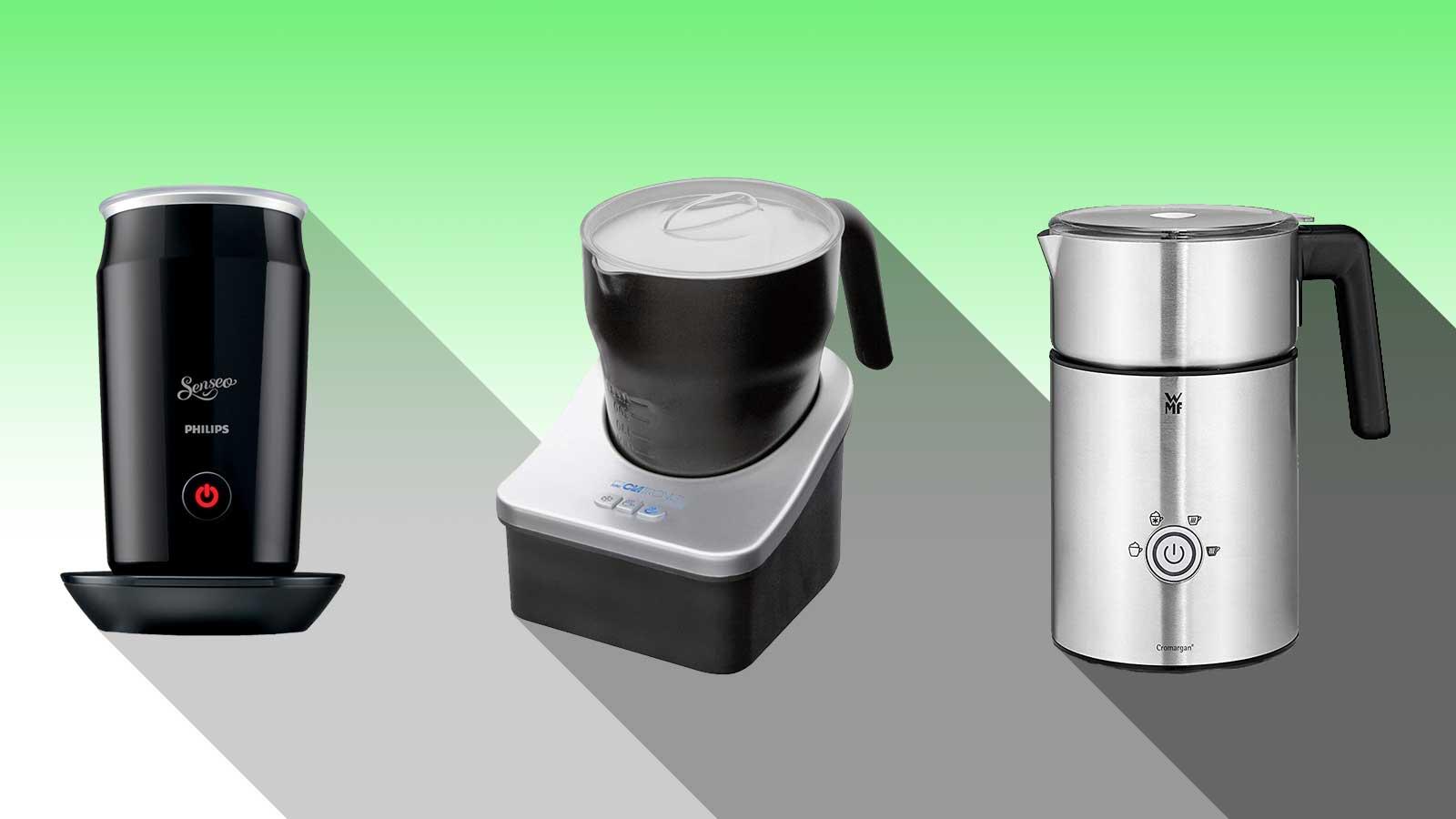 batteriebetriebener milchaufschäumer