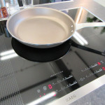 Induktionskochfeld in der Küche
