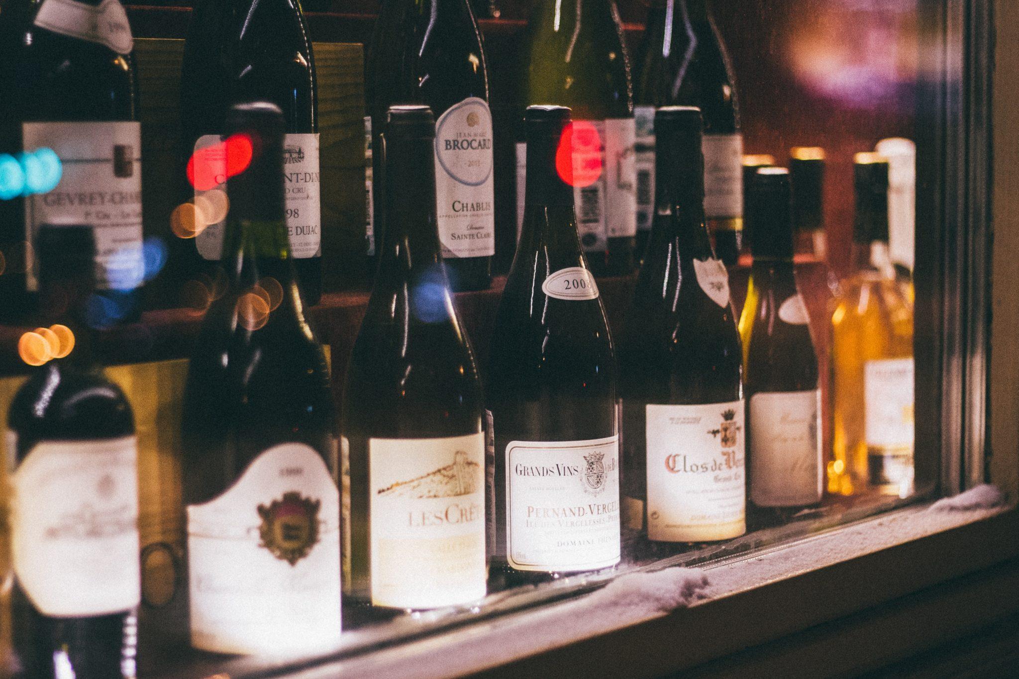 Weinzubehör - Wein im Kühlschrank