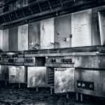 Küche mit Großküchentechnik