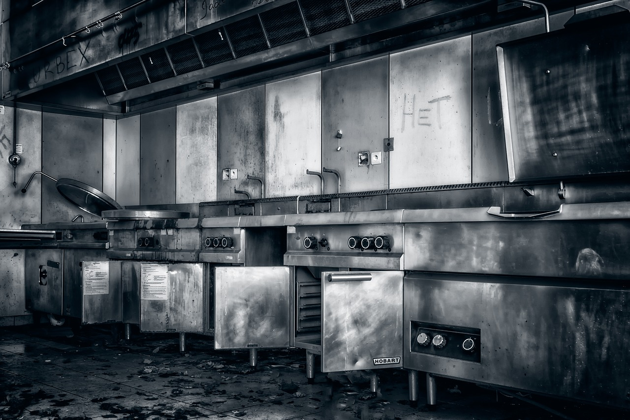 Reparatur von Großküchentechnik